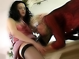 Joanna&Tommy female clothed couple on video
