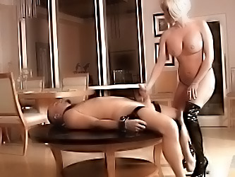 Mistress Gives Slave A Ruined Or...