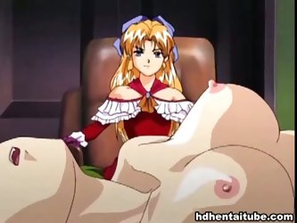 Mistress has maids as sex slaves