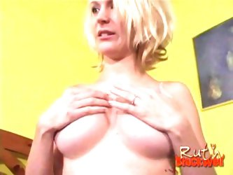 Horny pregnant blonde milf fucked by byron's monster black cock