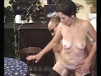 Mature 50+ with hairy pussy