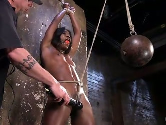 Bondage master wants to find out Ana's limits and she loves rope bondage