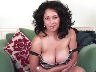 Those are some sexy melons and this brunette mature knows how to handle them. Danica Collins is a whore that you will love to stick your cock in her,