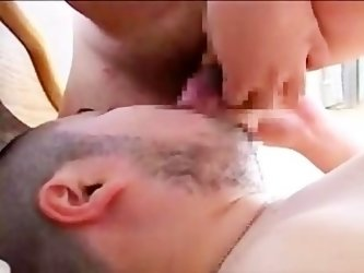 cute chubby boy Suck & Eating chubby lover's cum...