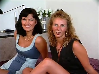 Two milfs sharing cock - Julia Reaves