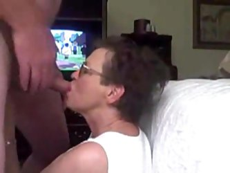 Cumshot for granny homemade